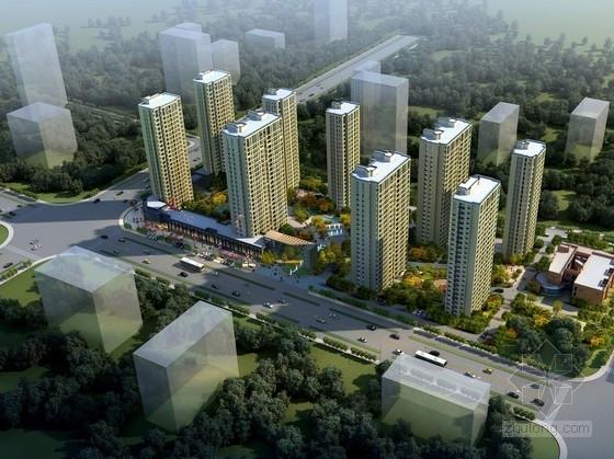 [浙江]现代风格高层住宅区规划及单体设计方案文本