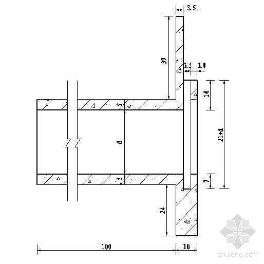 简易斗农门典型设计图