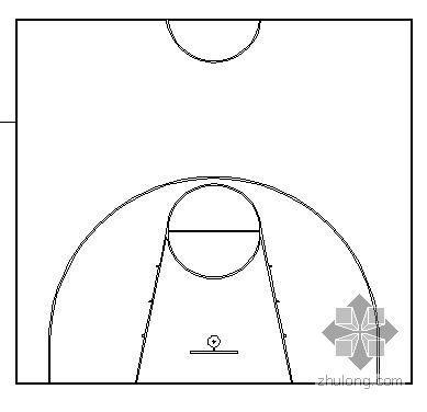 停车场,篮球场施工详图
