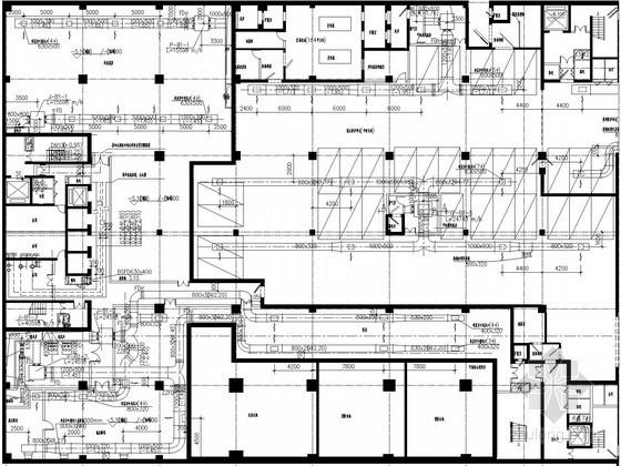 [广东]商务办公楼空调通风系统设计施工图(蓄冰空调系统)
