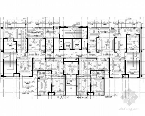 [天津]高层住宅采暖及通风排烟系统设计施工图
