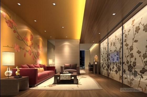 [北京]五星级豪华酒店客房设计方案含效果图-[北京]五星级豪华酒店客房设计效果图