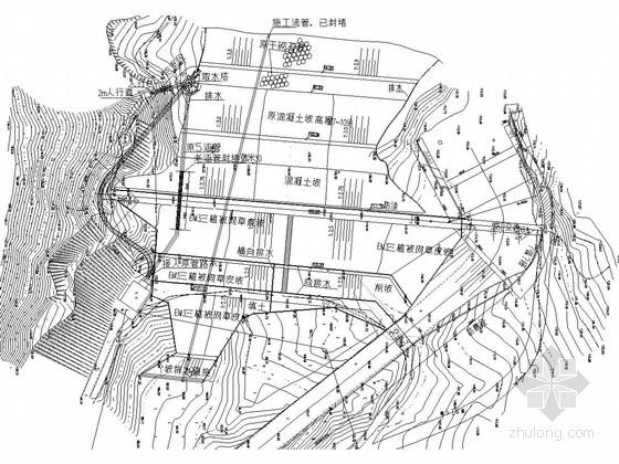 [湖北]水库大坝工程施工图