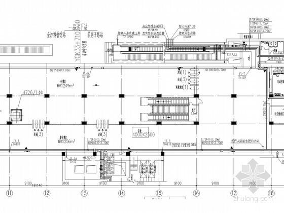 [四川]大型地铁工程岛式站台车站全套给排水初步设计图纸(含说明书)