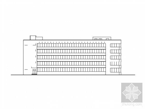 某精神病疗养院五层住院部建筑图扩初图