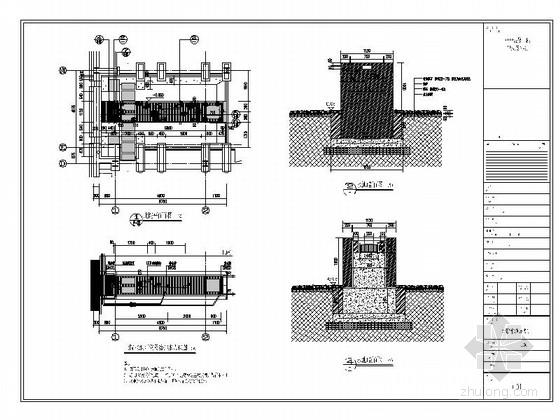 [北京]工业园区景观设计施工图方案