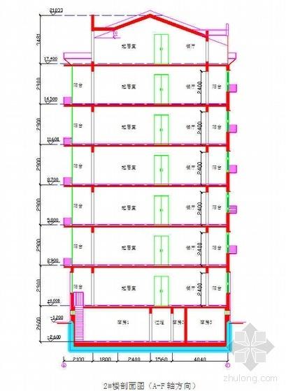 北京某多层住宅楼施工组织设计(斜屋面 绿色施工)