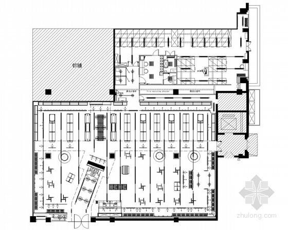 [大连]商场店铺室内电气设计施工图纸