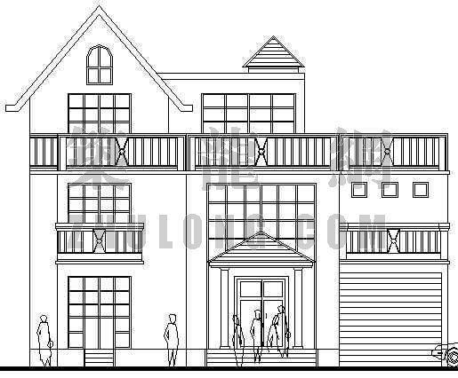 某三别墅建筑设计方案