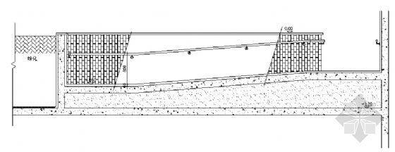残疾人坡道结构图