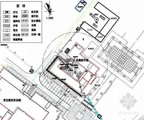 [湖南]住宅工程临时用电施工方案(平面布置图)