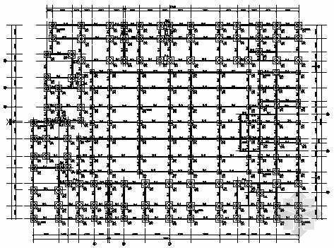 底层为商场的多层住宅楼结构图纸
