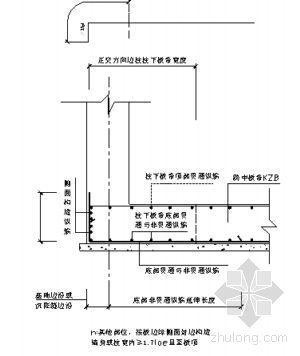 河北省某住宅工程钢筋施工方案