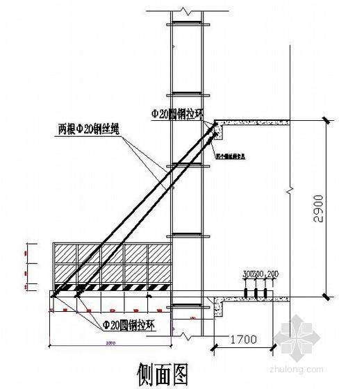 [江西]住宅小区悬挑式卸料平台施工方案