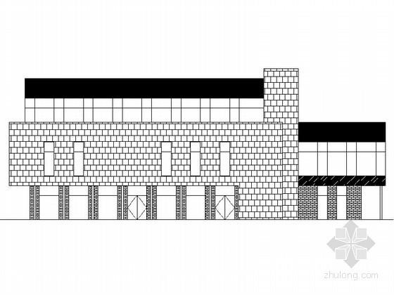 [苏州]某三层工业园区规划C11栋建筑扩初图
