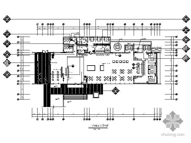 [成都]某现代售楼处施工图(含效果)