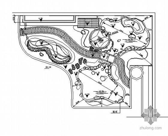 别墅小花园施工图