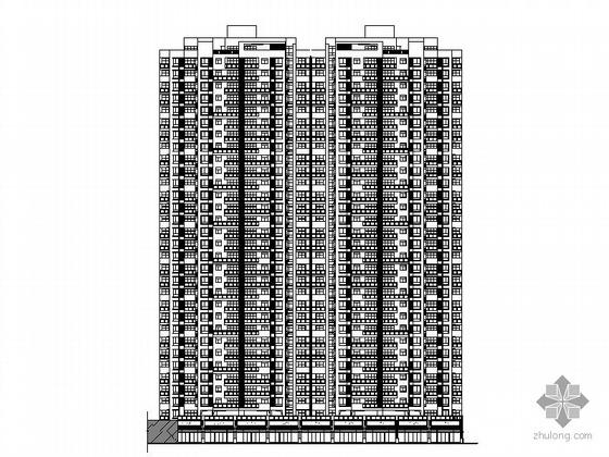 [四川]某三十一层塔式住宅楼建筑施工图(一梯五户、顶层复式)