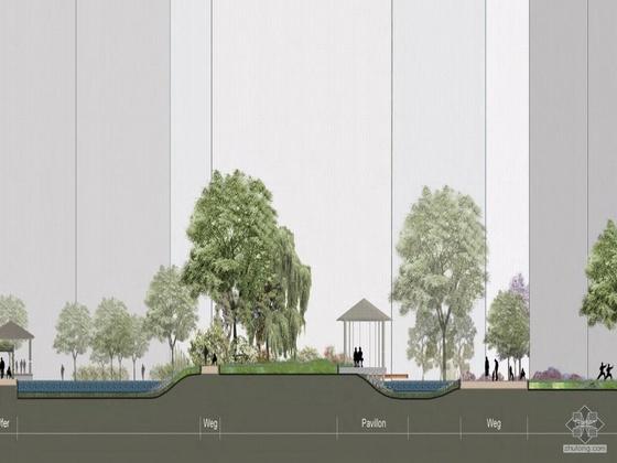 秦皇岛居住区环境景观设计-