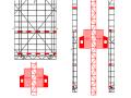 [河南]棚户区改造项目安置区升降式附着脚手架施工方案(74页)