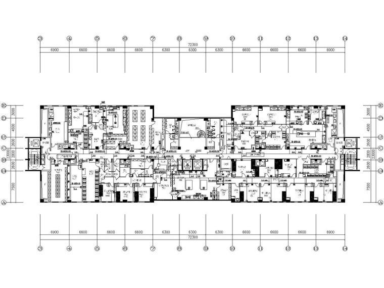 [广东]食品药品检验所智能化设计含弱电总控中心机房(大院最新)