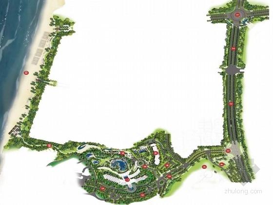 [海南]迷人海洋岛屿酒店景观规划设计方案(知名设计)