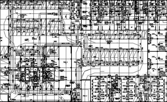 [贵阳]酒店式公寓空调及防排烟系统设计施工图(公寓 酒店 商业)