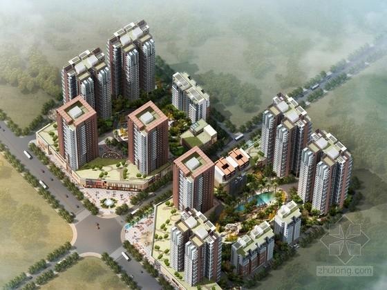 [云南]某住宅区规划及单体设计方案文本(含CAD)