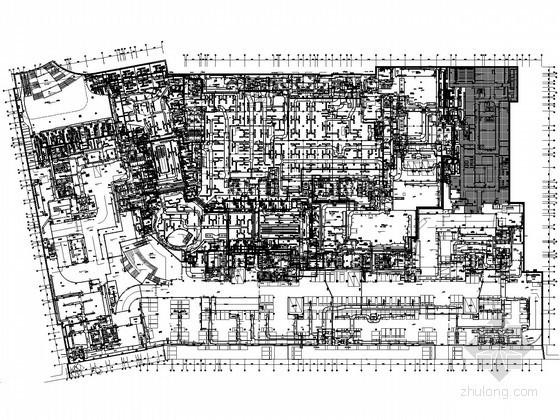 [成都]都市综合体空调通风设计施工图纸180张(30万平米知名设计院)