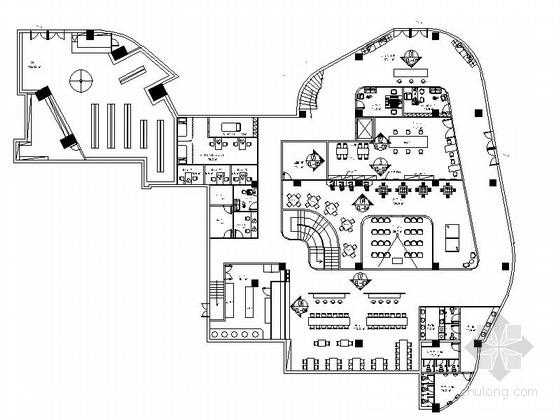 [河南]温馨舒适社区养老院室内装修CAD施工图