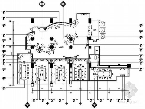 [三亚]全球顶级酒店时尚会议中心装修设计施工图(含效果)