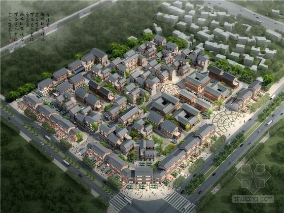 [云南]中式风格多层商业旅游街规划设计方案文本