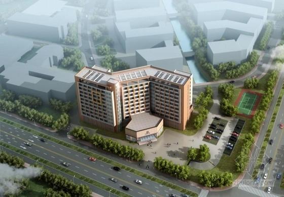[南昌]酒店式折形体块留学生公寓建筑设计方案文本