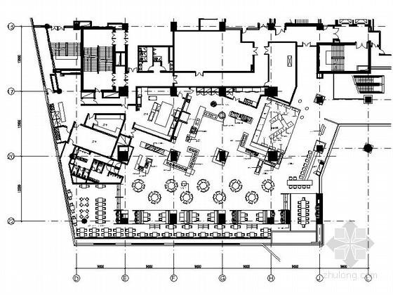 [北京]知名全球连锁酒店日式餐厅装修图