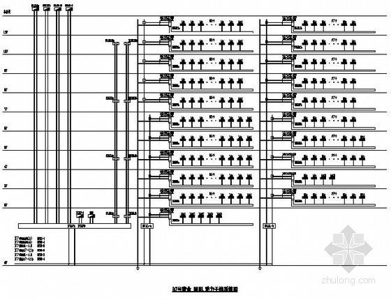 [重庆]某厂房宿舍电气全套竣工图