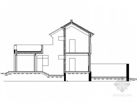 [北京]平谷某二层中式别墅建筑扩初图(216平方米、F型)