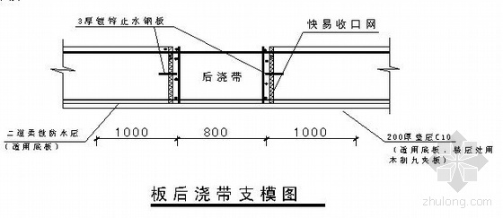 合肥投标模板资料下载-合肥某办公楼工程施工组织设计(框剪结构)
