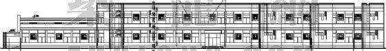 某学校高中餐厅建筑施工图
