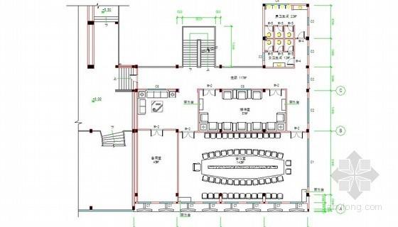 [广东]某3层框架政府办公附楼及地下室装修工程量清单预算及图123张(装饰+室外给排水+围墙地埕)