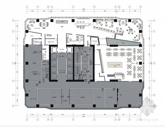 [广东]高档酒店公寓室内装修设计方案