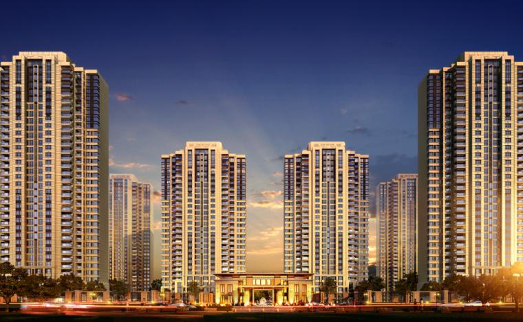 [江苏]33层住宅及多种社区商业及配套服务功能一体化商业综合体_1