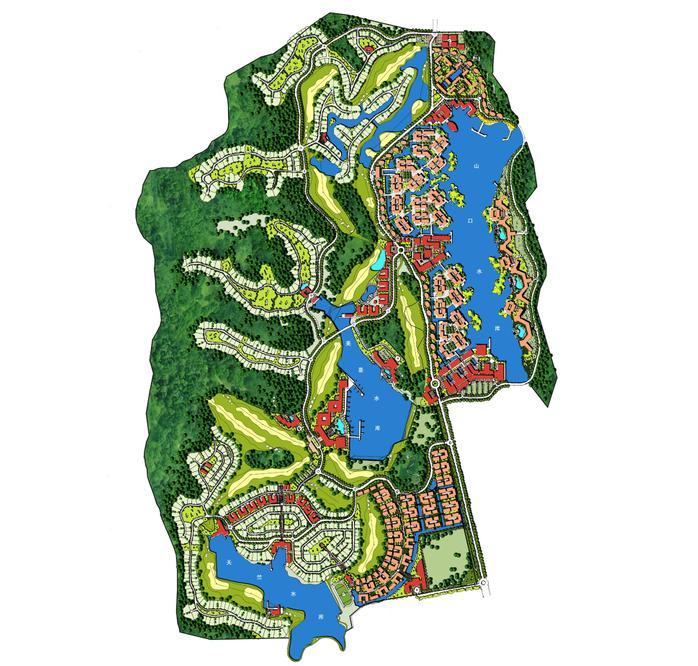 [广东]佛山市中信保利达南海高端生态休闲区总体概念规划