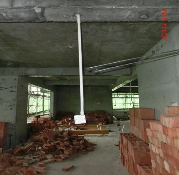 建筑工程砌体免开槽施工工法
