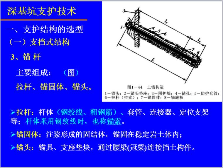 深基坑支护施工技术培训讲义(84页,详细阐述)