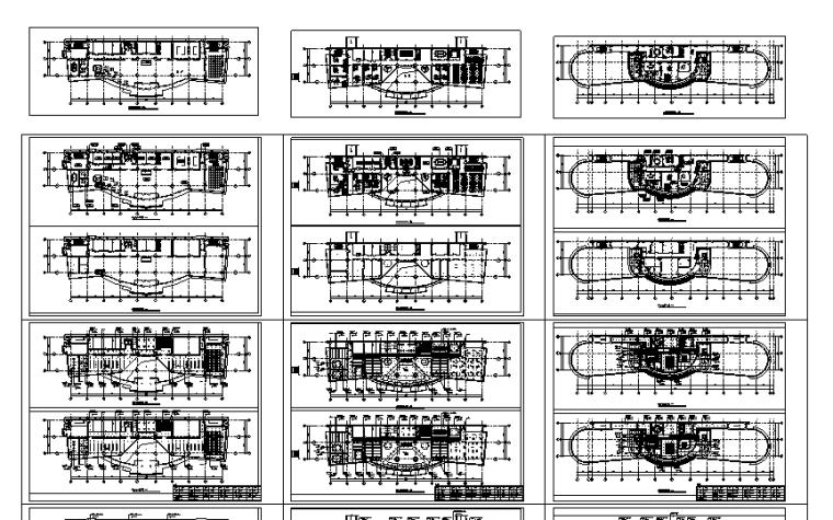 全套详细7层办公楼设计施工图