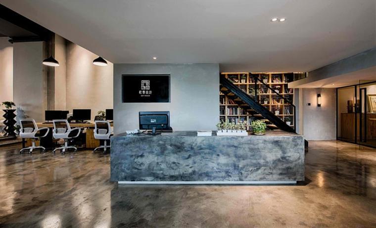 #办公空间设计#LOFT工业风格的办公室