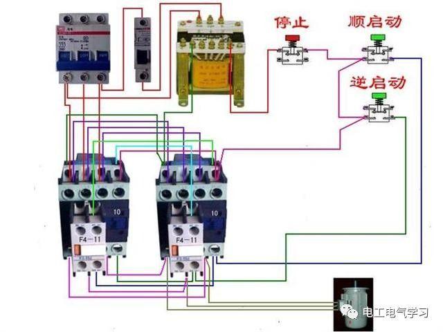 【电工必备】开关照明电机断路器接线图大全非常值得收藏!_81