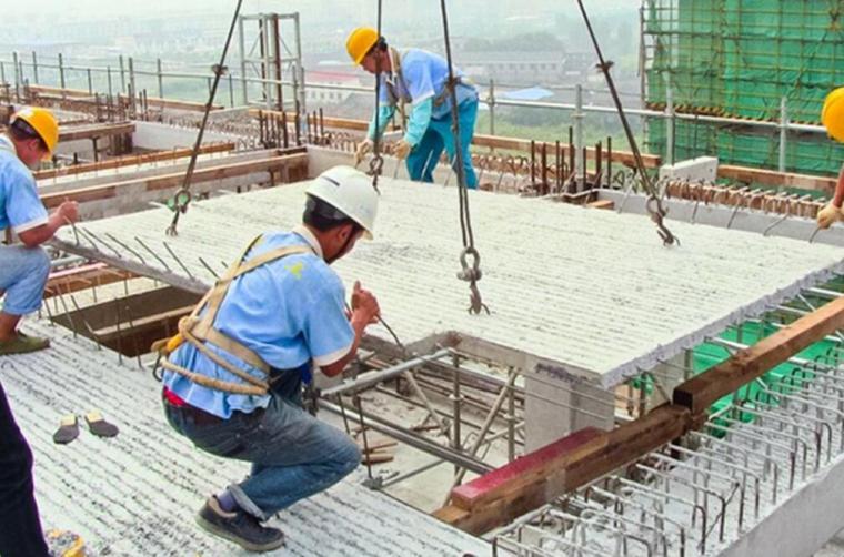 [江苏]框架剪力墙结构住宅楼PC构件安装专项施工方案(100余页,叠合楼盖连接体系)