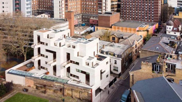 建筑师独立开发的公寓楼,真是好房子!_3