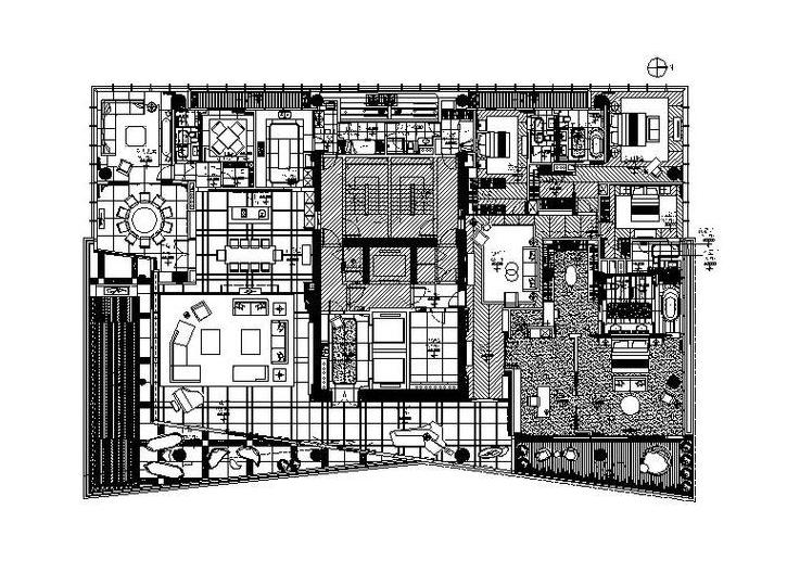 [深圳]全套现代精致别墅设计施工图(含高清实景图)